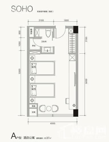 广安国际会展中心户型图