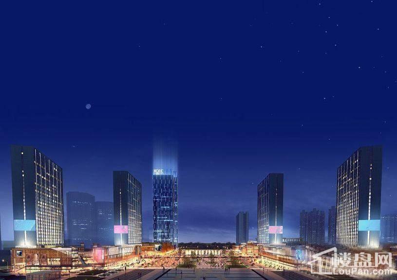 广安国际会展中心效果图