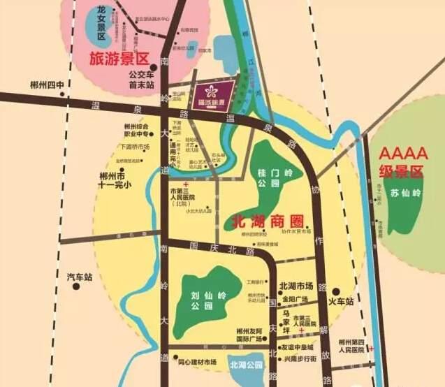 福城桃源位置图