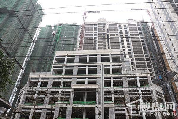 尚城·财富中心实景图