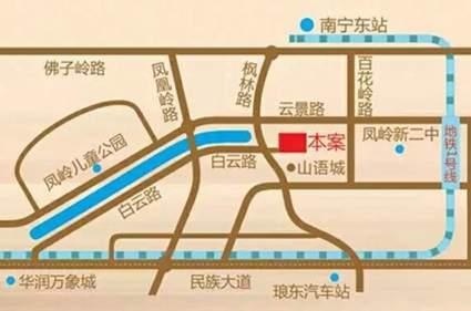 宏桂东盛时代位置图