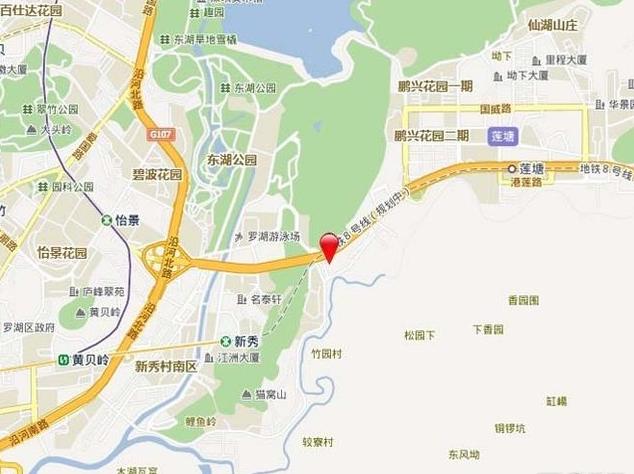 兰亭国际名园位置图