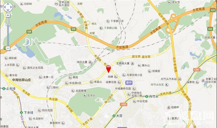 宇宏·健康花城位置图