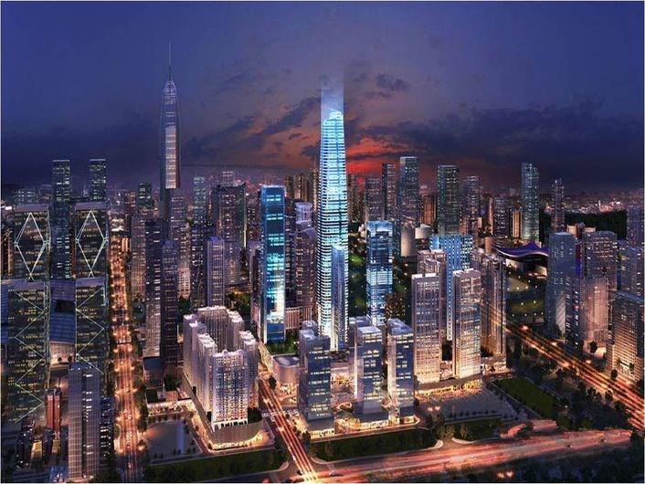 深圳中心·天元效果图