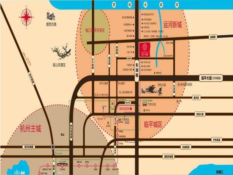 嘉丰万悦城位置图