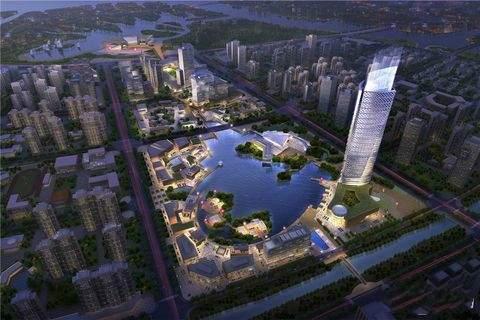 中欧国际城实景图