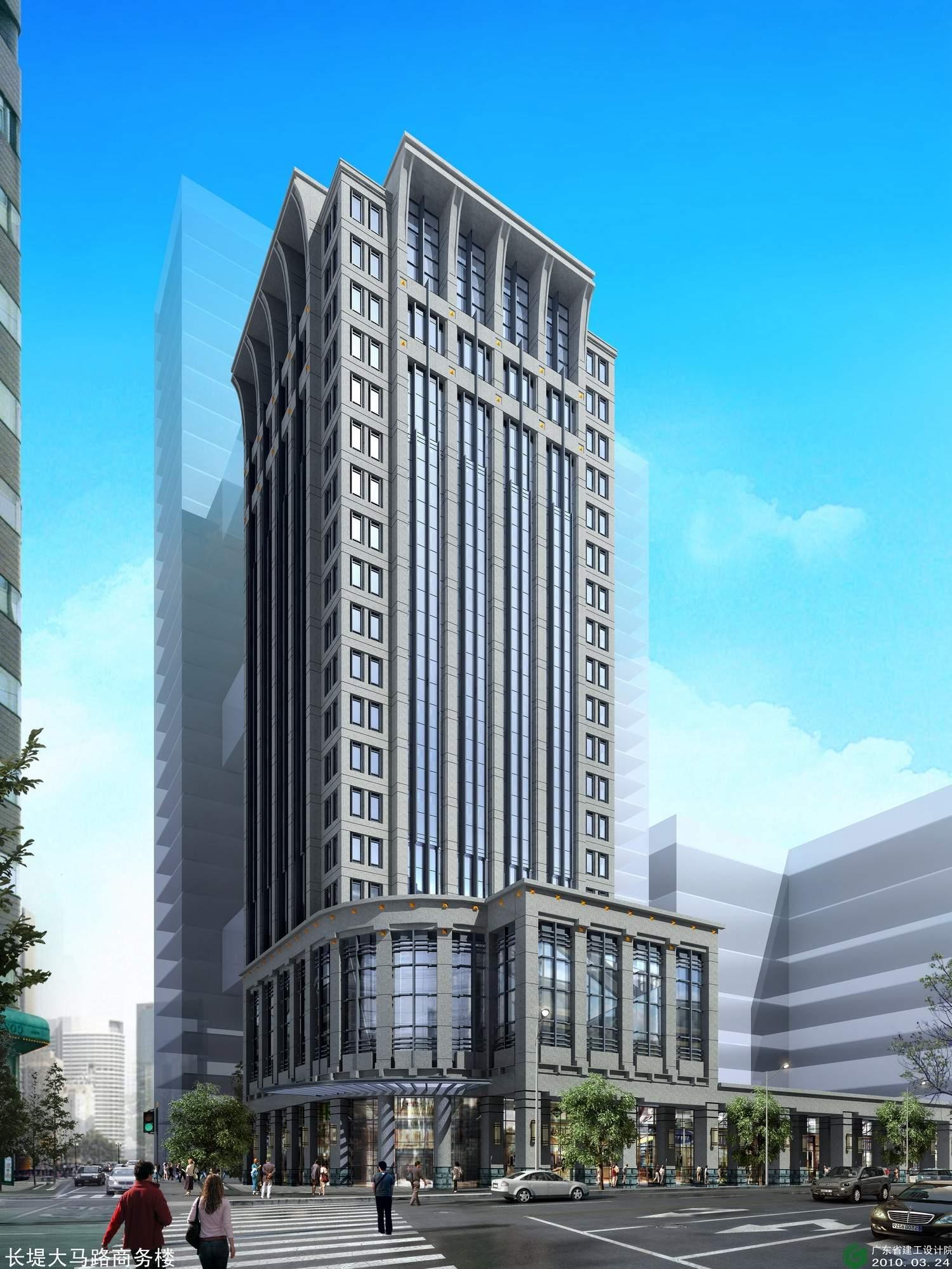 广州民间金融大厦效果图
