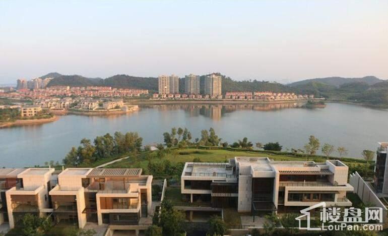 雅居乐白鹭湖实景图