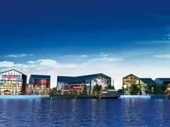 广州万达文化旅游城住宅效果图