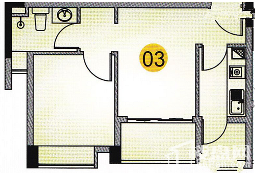 观山苑三期户型图