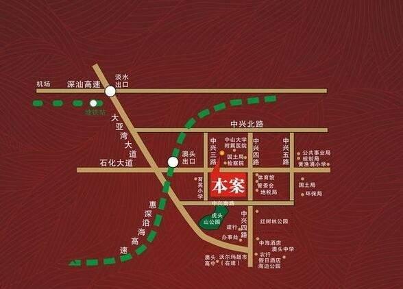 德丰凯旋城位置图