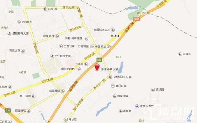 海锦·香槟小镇位置图