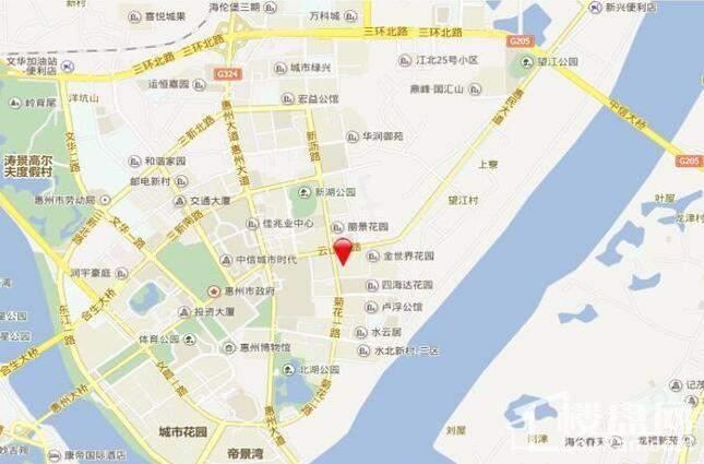 丽日君颐家园 位置图