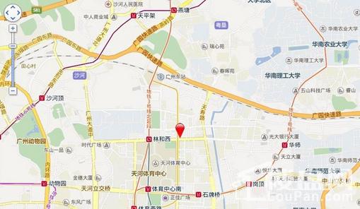 寰城海航广场位置图