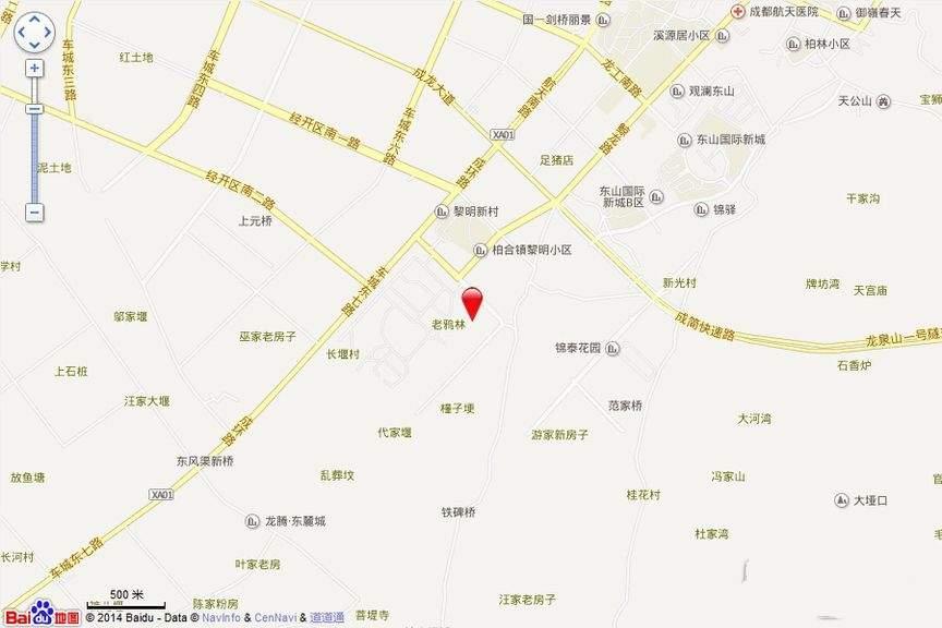 绿林书院位置图