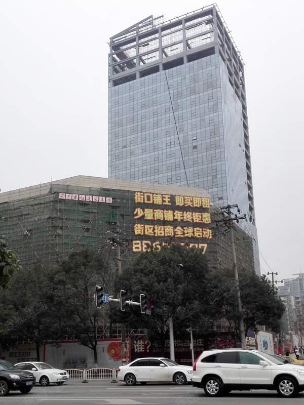 河西王府井商业广场实景图