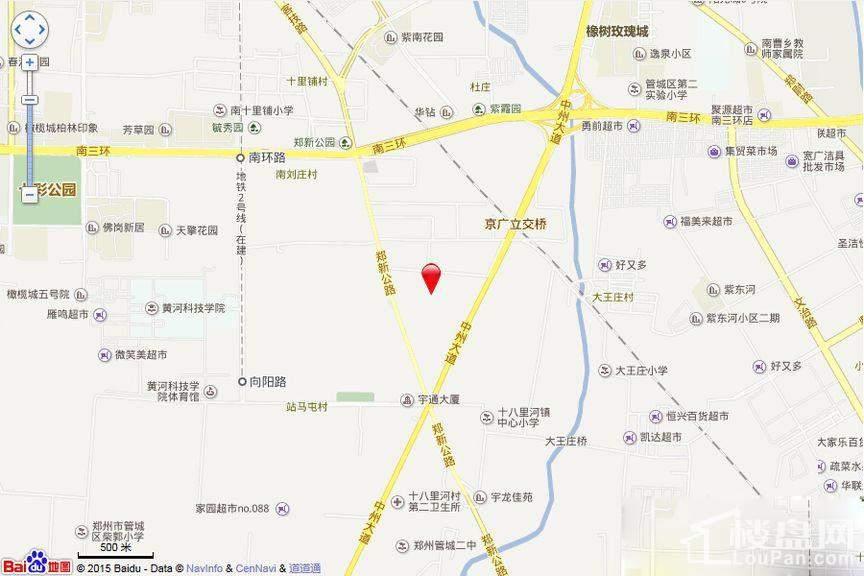 永威城位置图