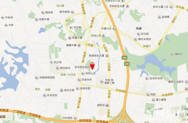 佳华领域广场位置图