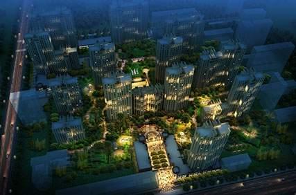 盛达城市花园效果图