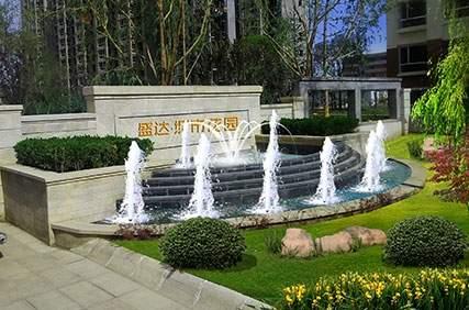 盛达城市花园实景图