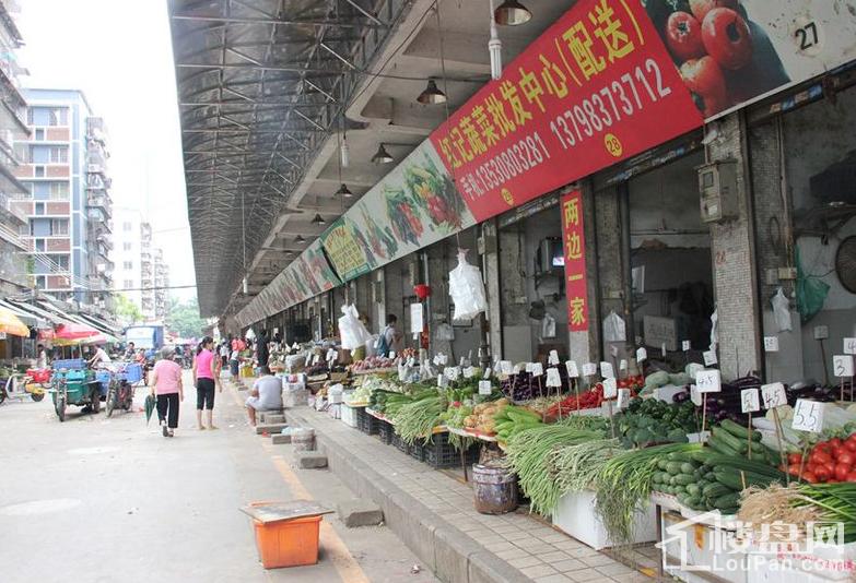 项目周边500米左右菜市场