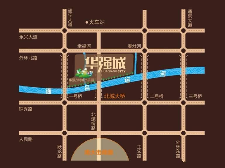 华强城位置图