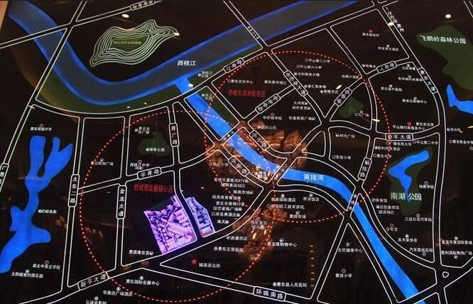 嘉旺城位置图