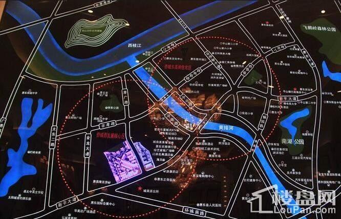 嘉旺城 位置图