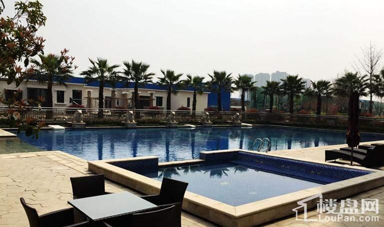 华强城游泳池