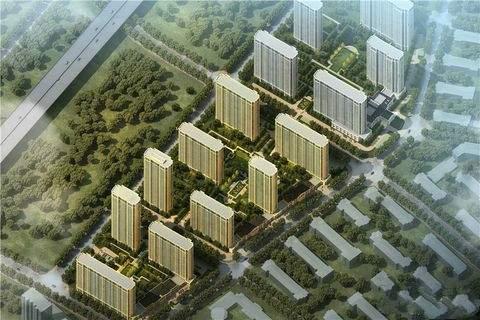 绿城理想之城郁金香岸效果图
