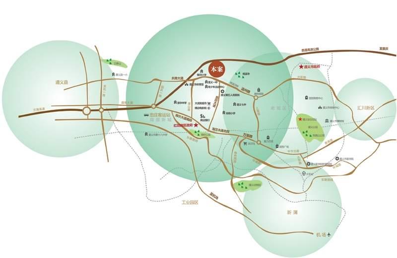 天蕴·南加州位置图