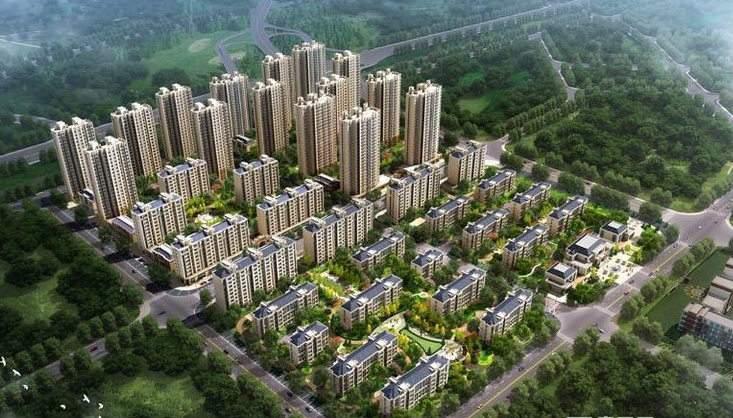 中国铁建 青秀蓝湾效果图