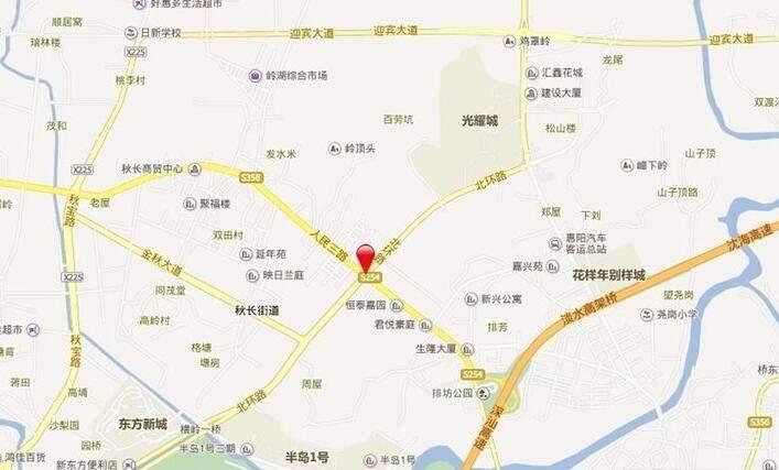 新祺园位置图