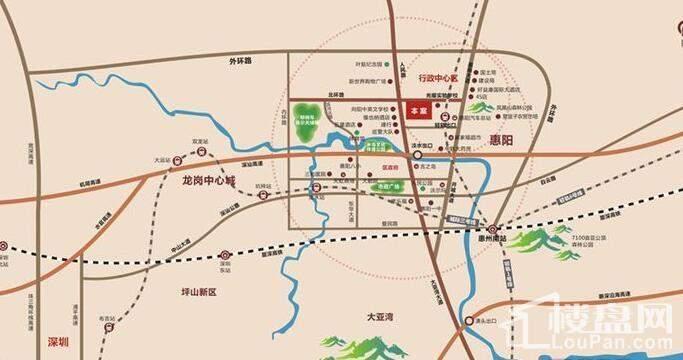 新祺园 位置图