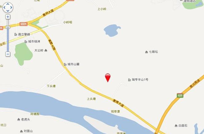 依云小镇位置图