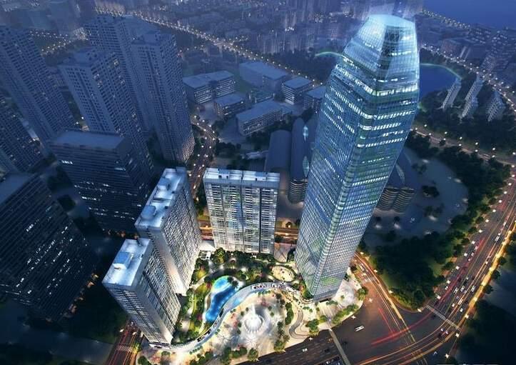 荣灿·惠州中心效果图