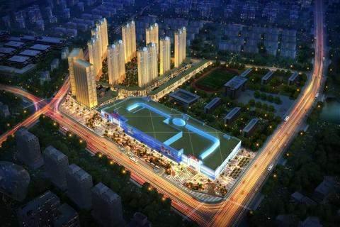 海口万达广场实景图