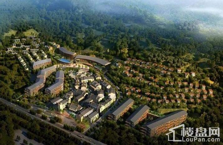 罗浮山·健康生态城效果图