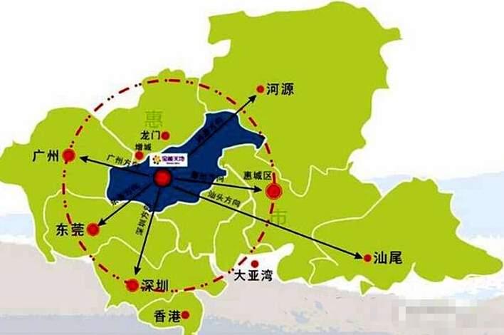 罗浮山·健康生态城位置图