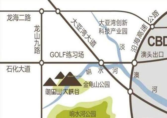 御玺山·大峡谷位置图