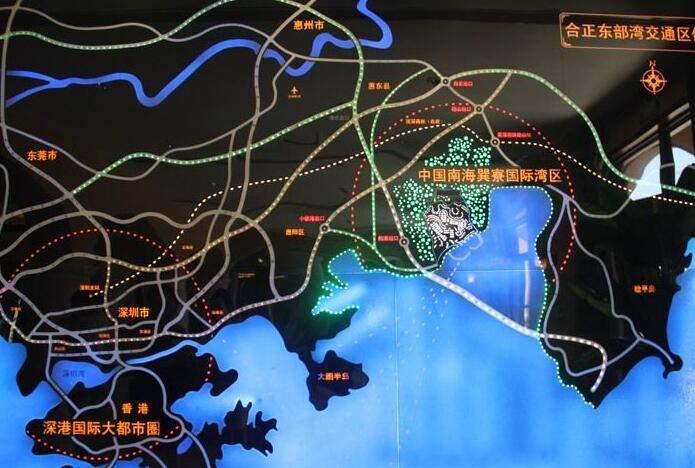 合正东部湾位置图
