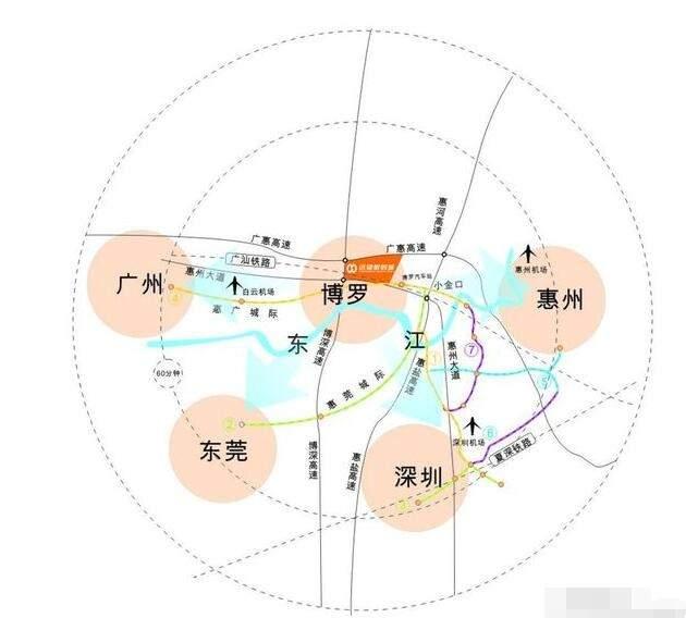 惠州远望数码城位置图