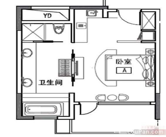 3栋公寓D户型