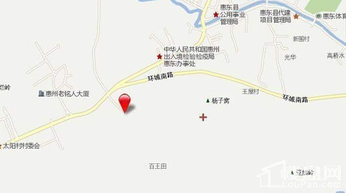 弘诚厚园 位置图