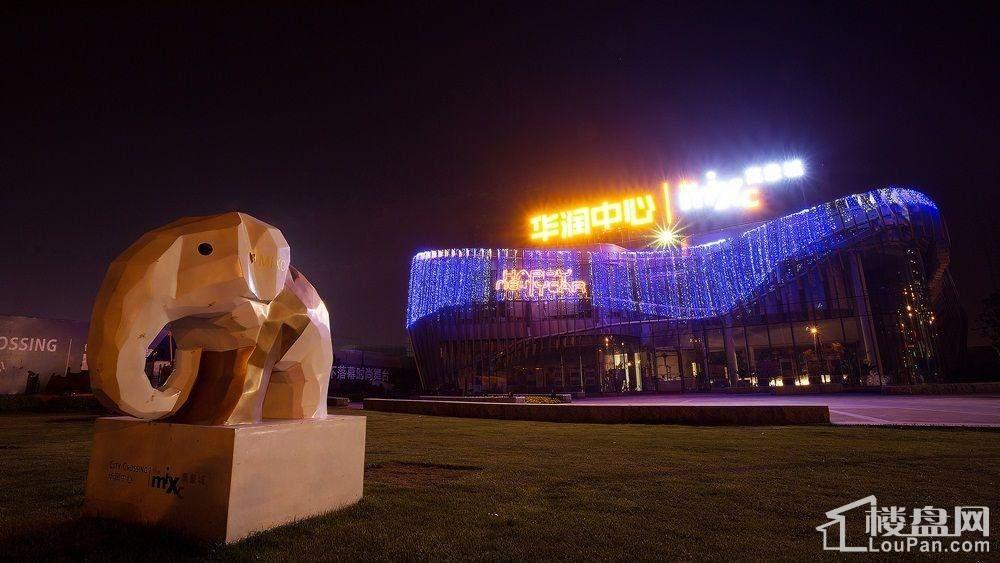 华润悦锦湾夜景