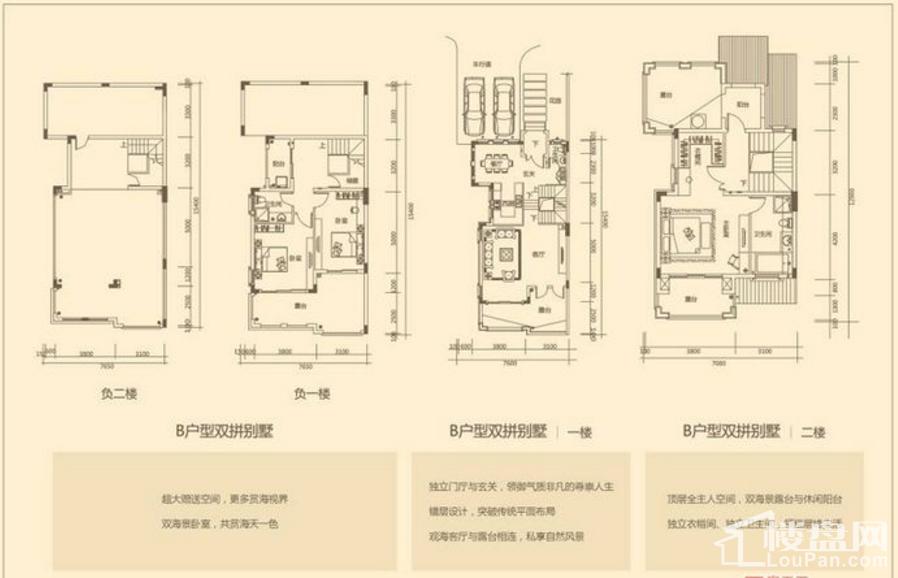 别墅B户型图