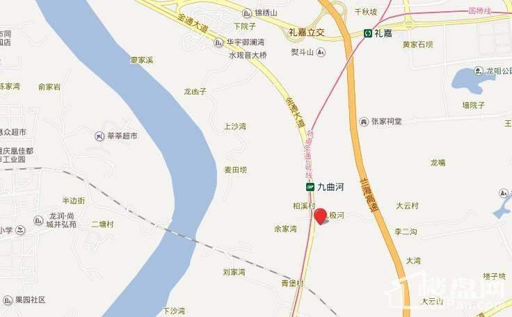 江山樾位置图