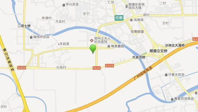 伦教碧桂园位置图