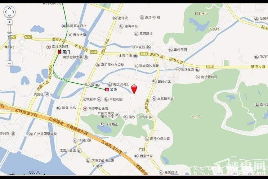 广州时代云图位置图