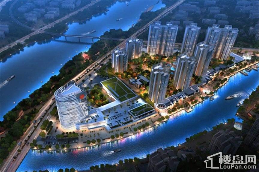越秀滨海悦城实景图